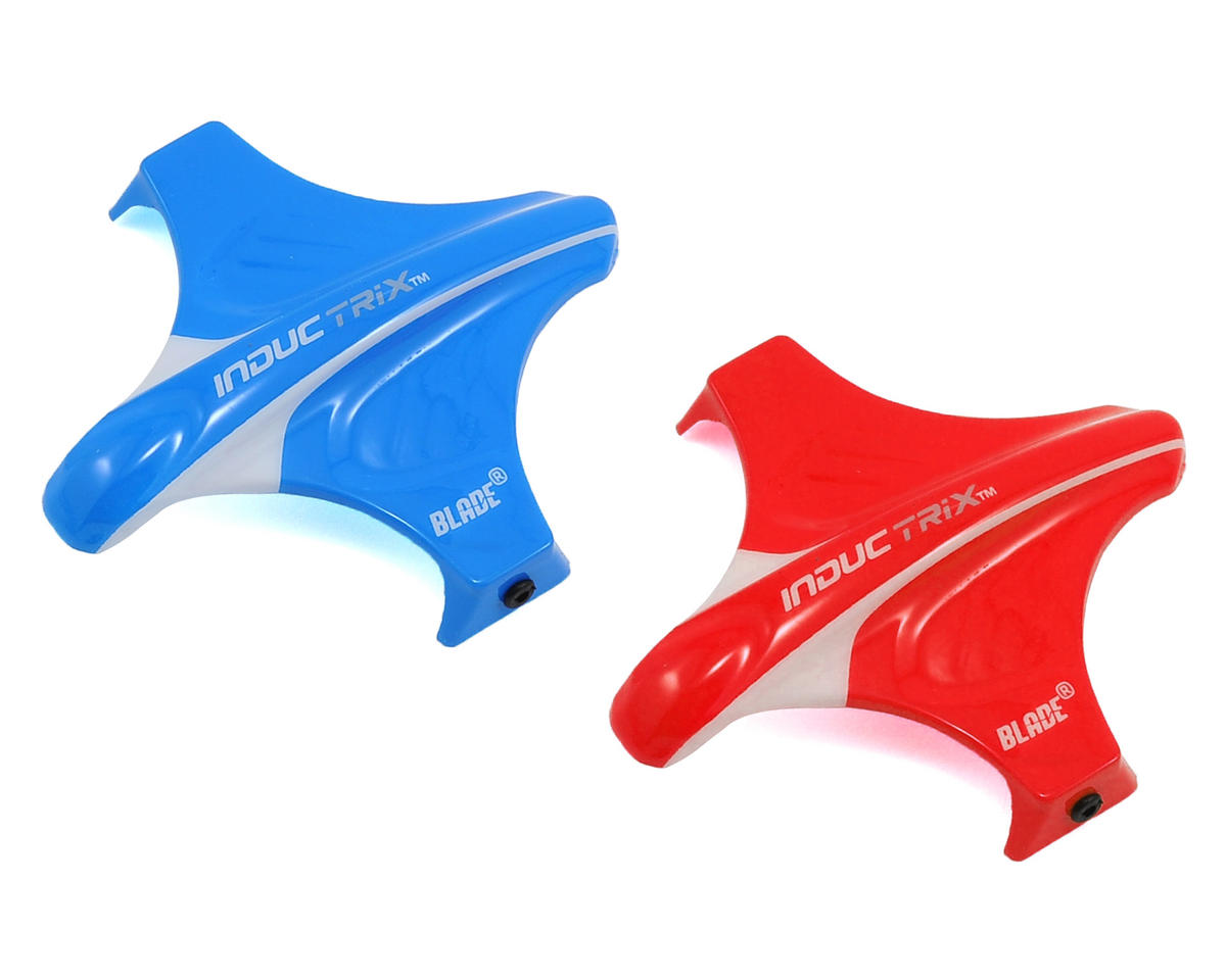 Blade Helis Canopy Set (Red & Blue)