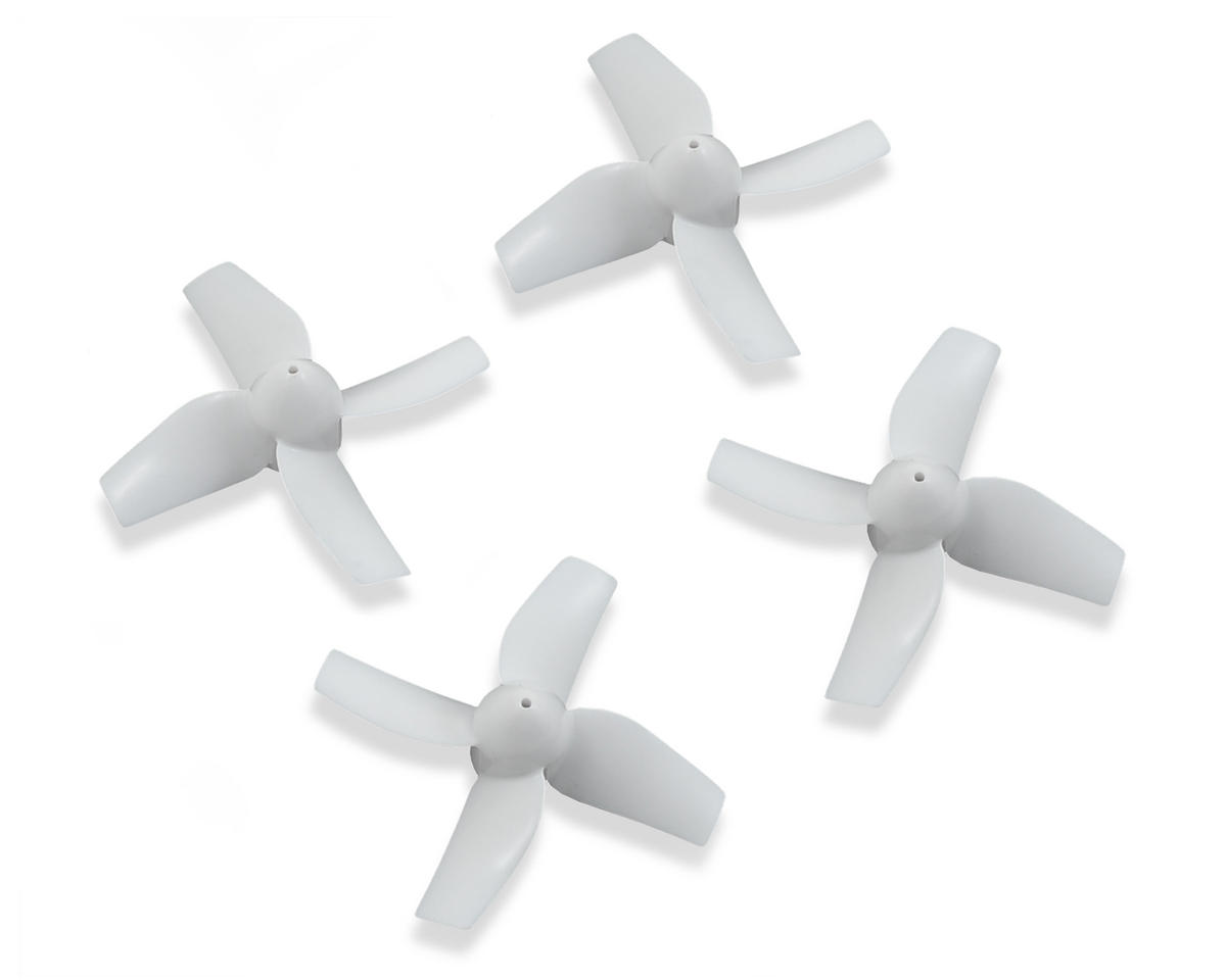 Blade Helis CW & CCW Rotation Propeller Set (4) (White)