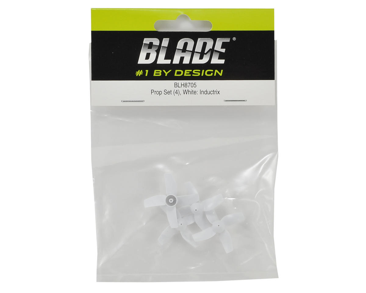 Blade Helis Inductrix FPV Prop Set (4) (White)