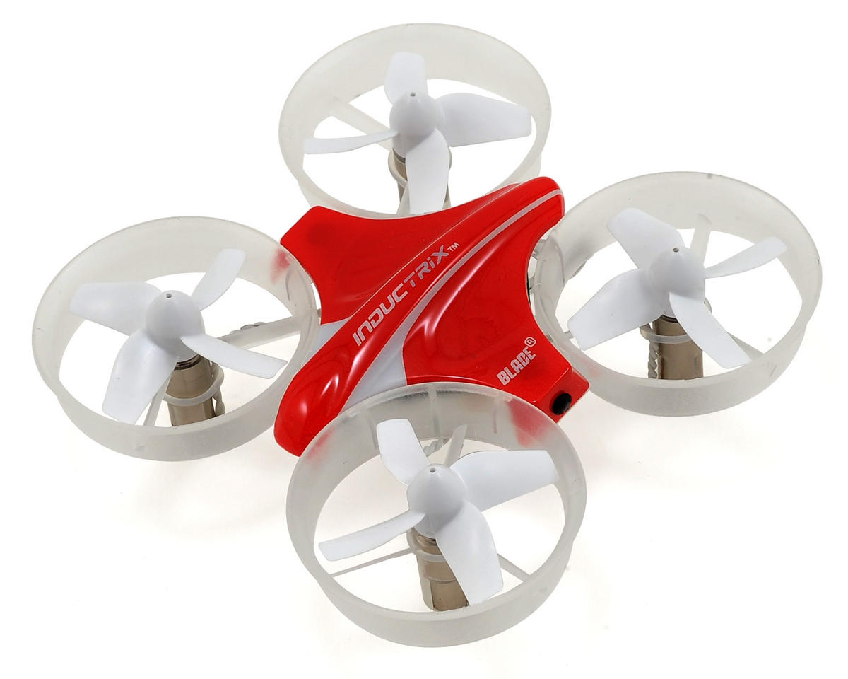 Blade Helis Inductrix BNF Ultra Micro Electric Quad-Copter Drone