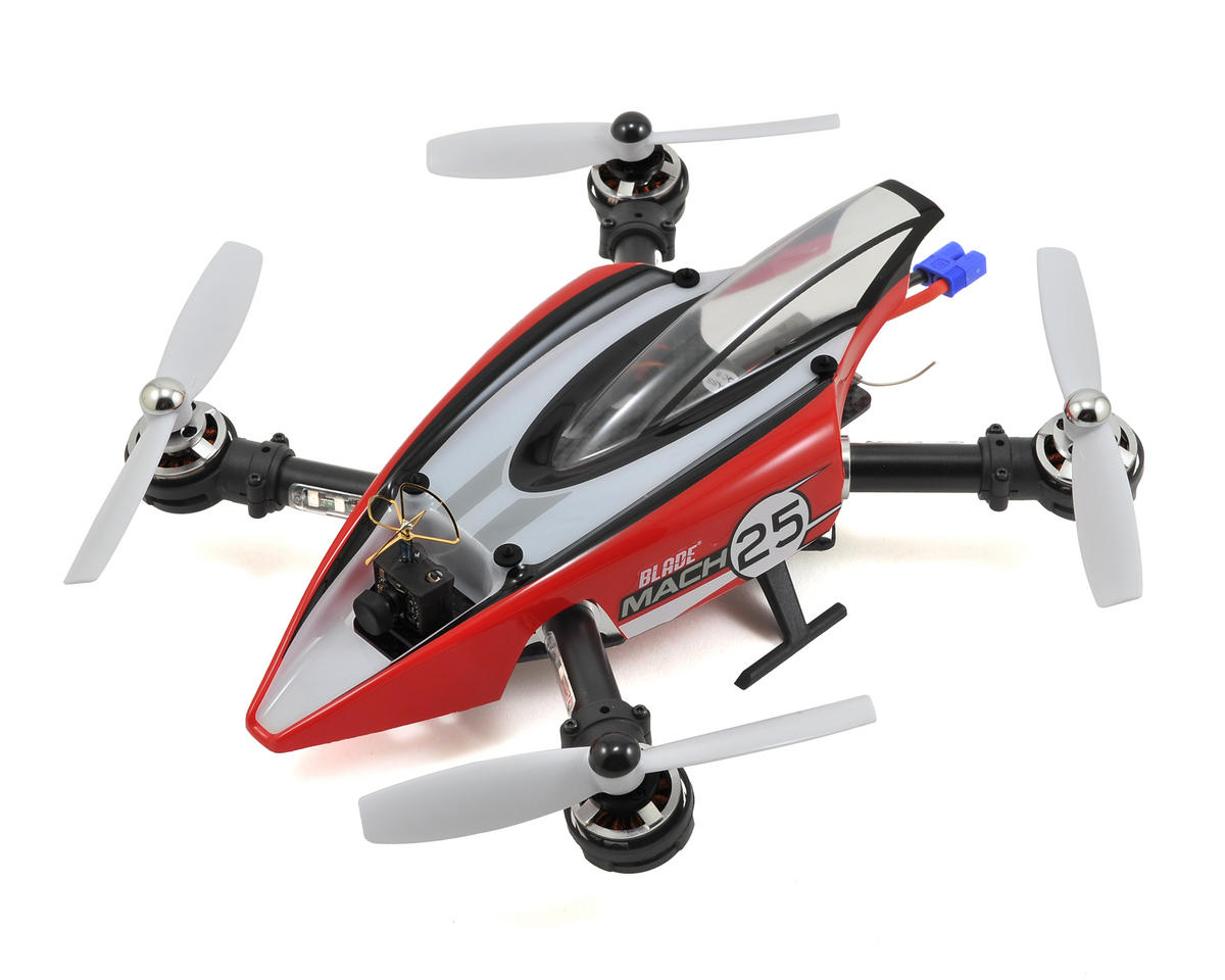 Mach 25 FPV Racer Bind-N-Fly Basic Quadcopter Drone by Blade