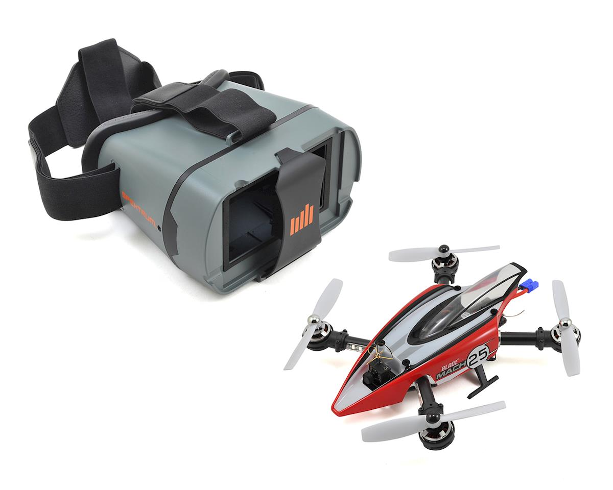 Blade Helis Mach 25 BNF Quadcopter Drone Racer