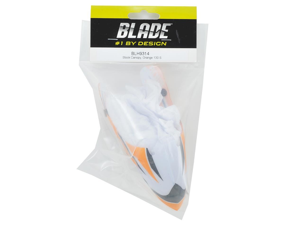 Blade 130 S Stock Canopy (Orange)