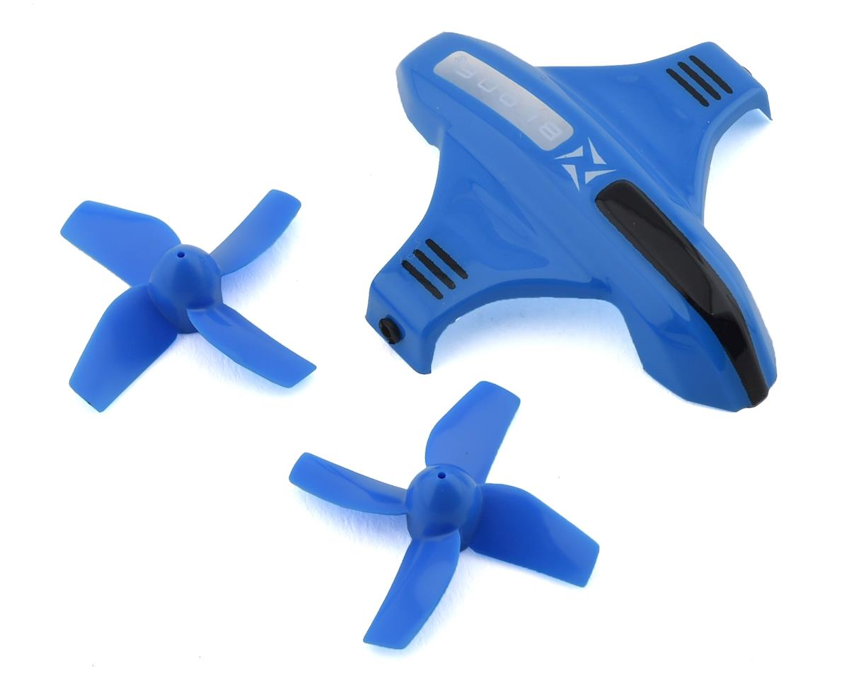 Blade Inductrix Switch Canopy Option Set w/Props (Blue)