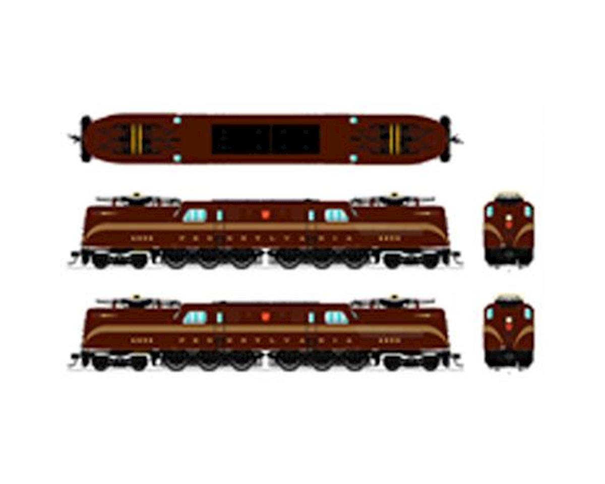 N GG1 w DCC & Paragon 3 PRR #4857   relatedproducts