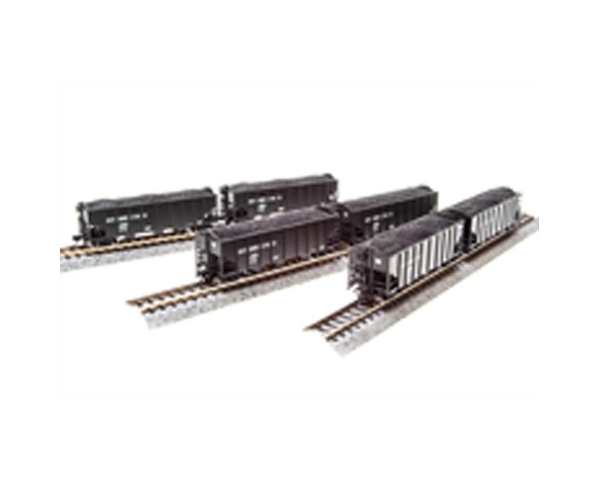 Broadway N H2A 3-Bay Hopper, B&O Pack D (6)