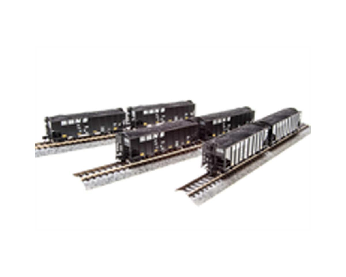 N H2A 3-Bay Hopper, CSX/Black/White Lettering B(6) by Broadway