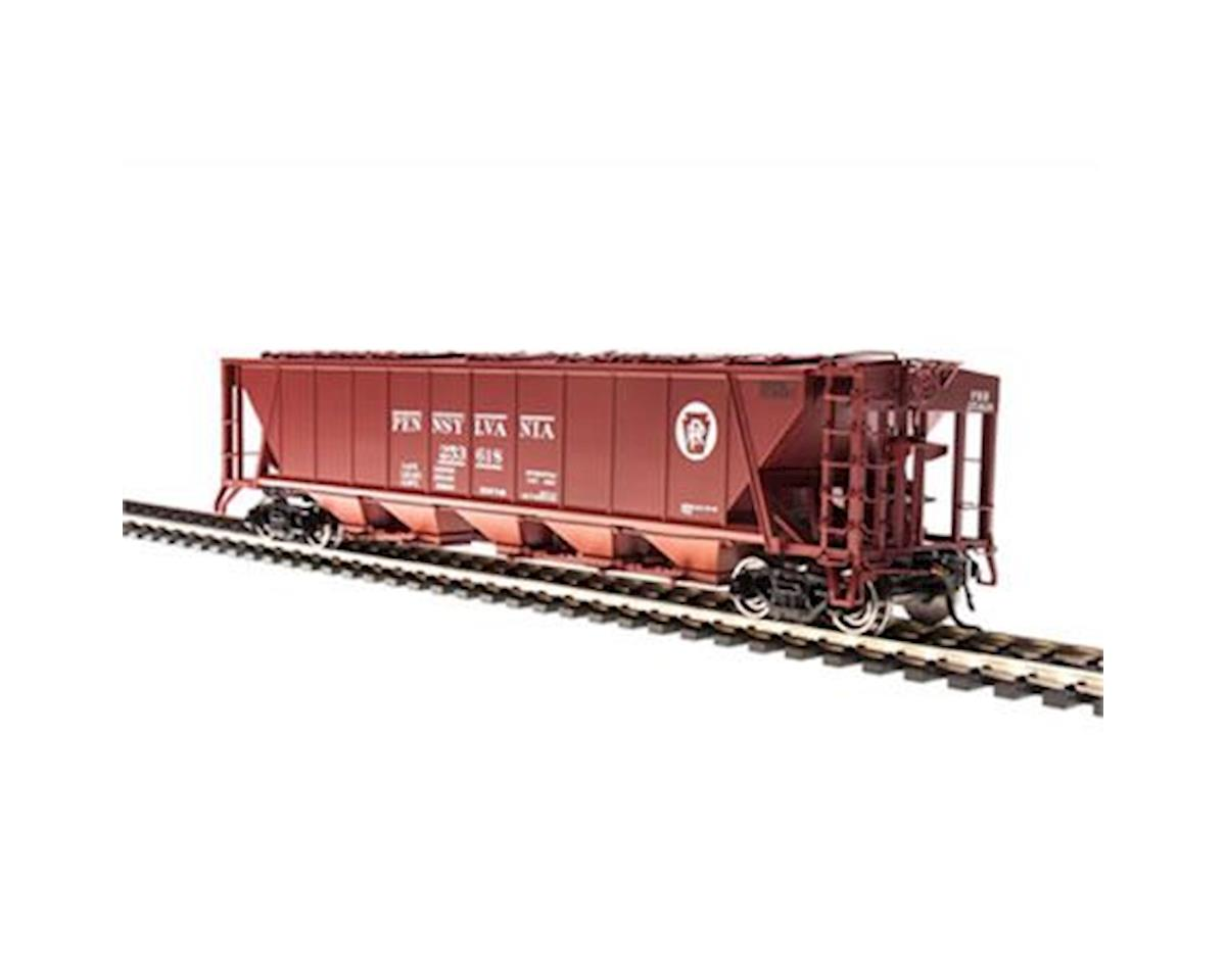 Broadway HO H32 Covered Hopper, PRR/Red/White Circle A (2)