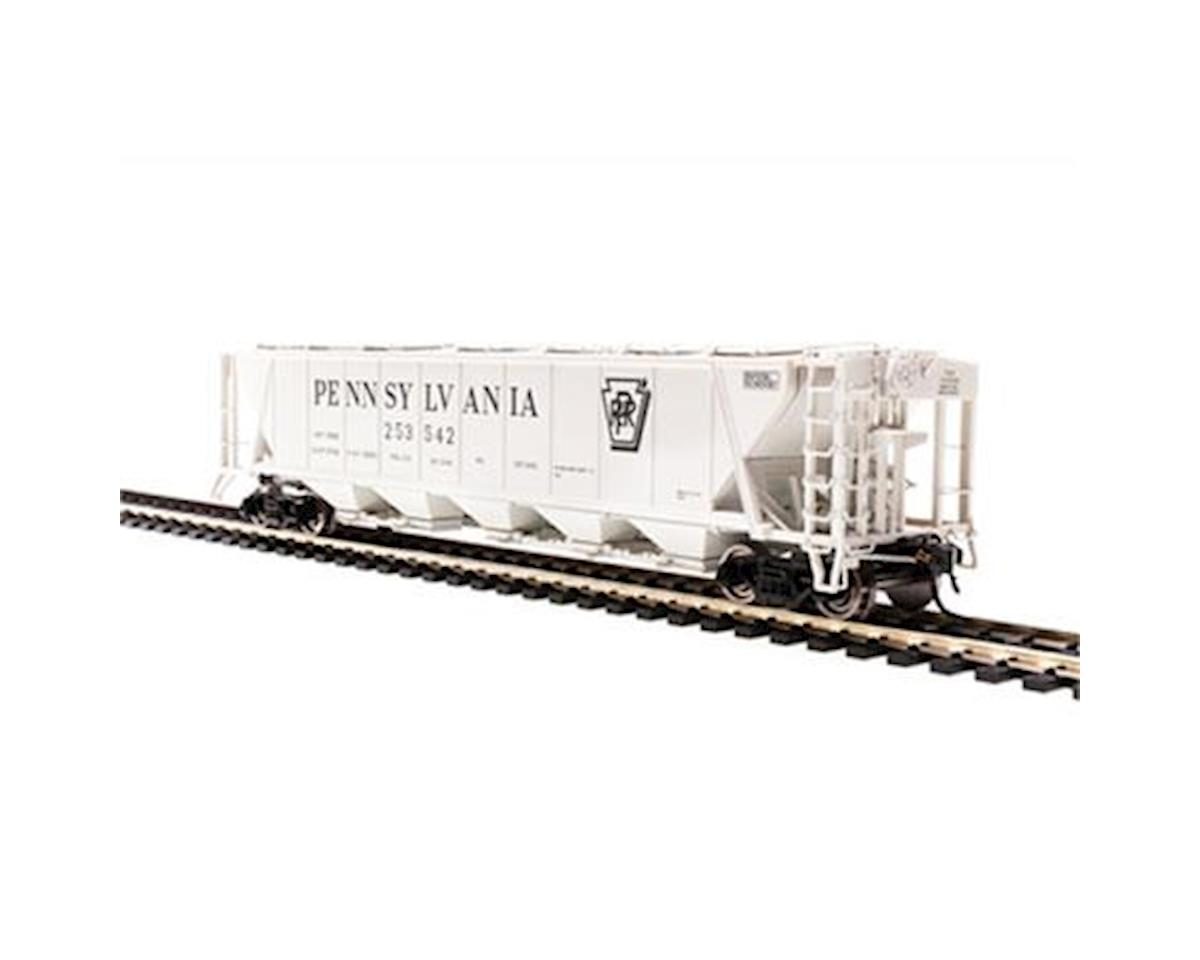 Broadway HO H32 Covered Hopper, PRR/Gray/Black Shadow B (2)