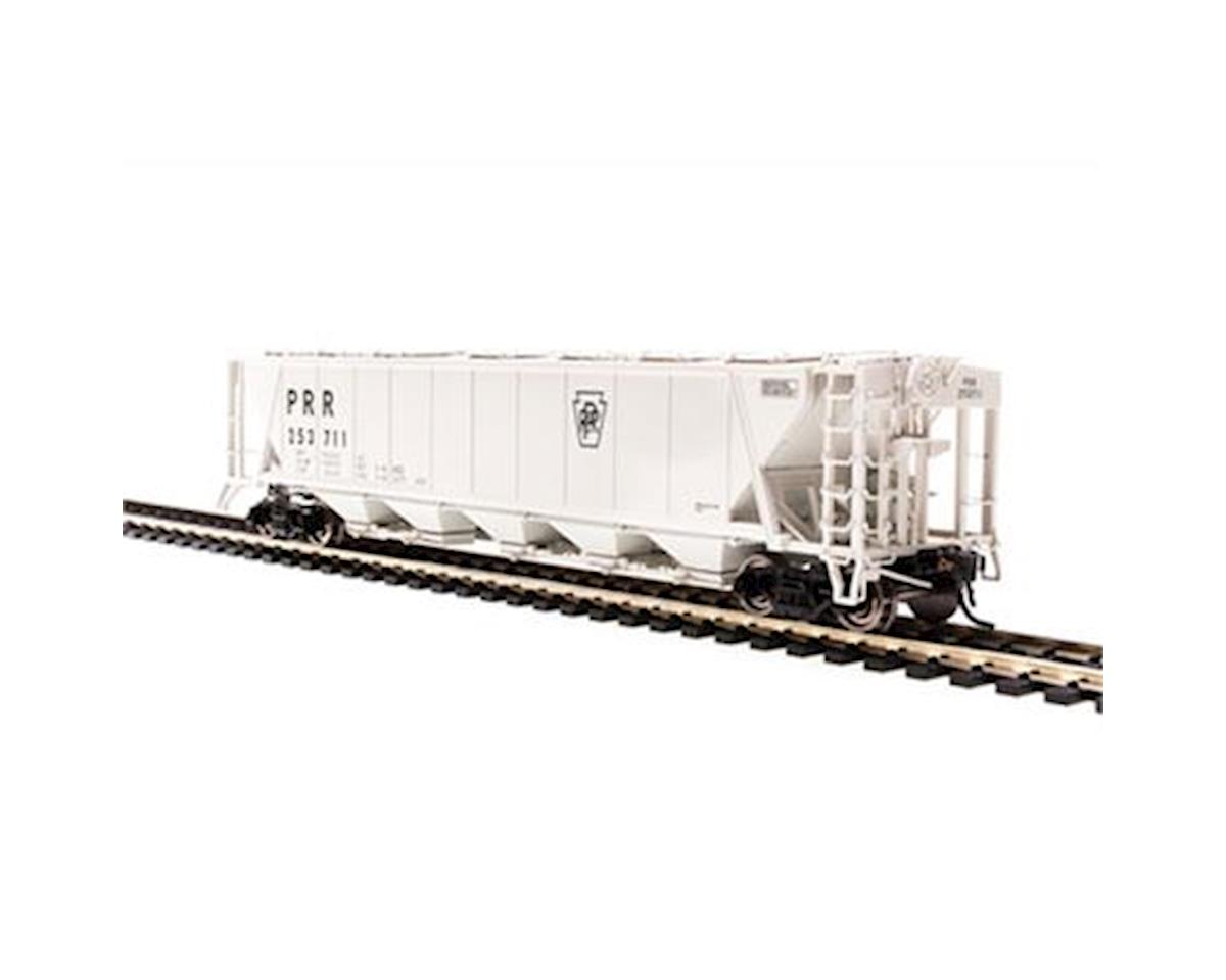 Broadway HO H32 Covered Hopper, PRR/Gray/Black Keystone (2)