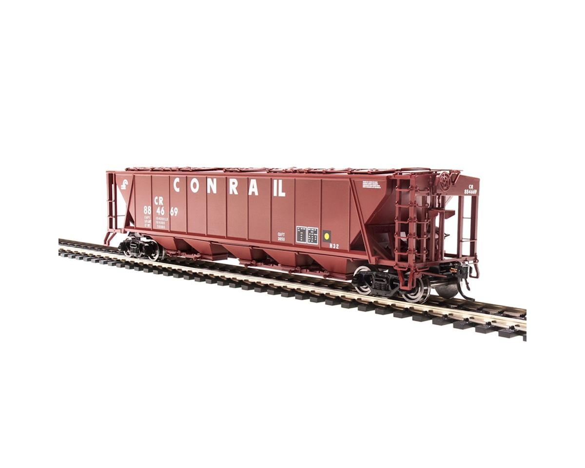 Broadway HO H32 Covered Hopper, CR/Red/White Lettering (2)