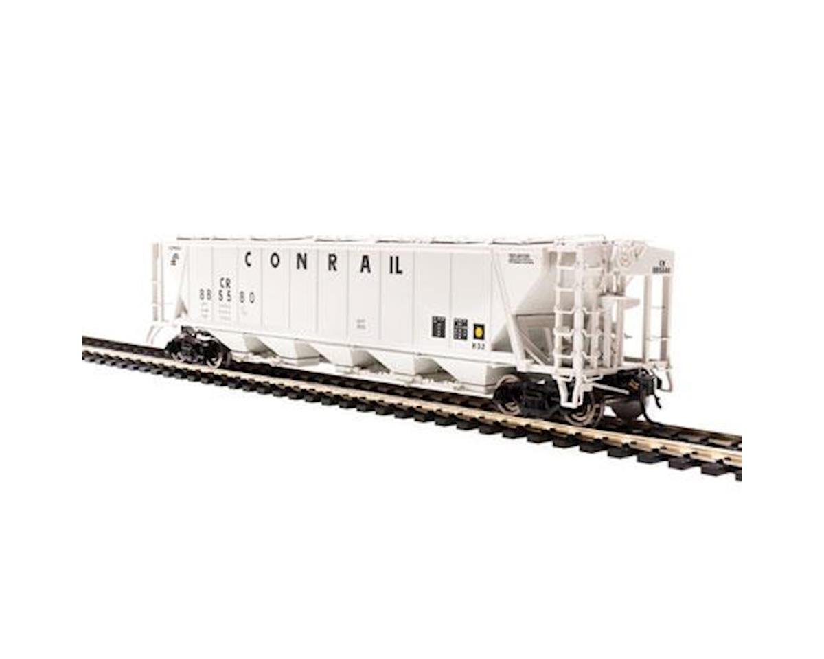 Broadway HO H32 Covered Hopper, CR/Gray/Black Lettering (2)