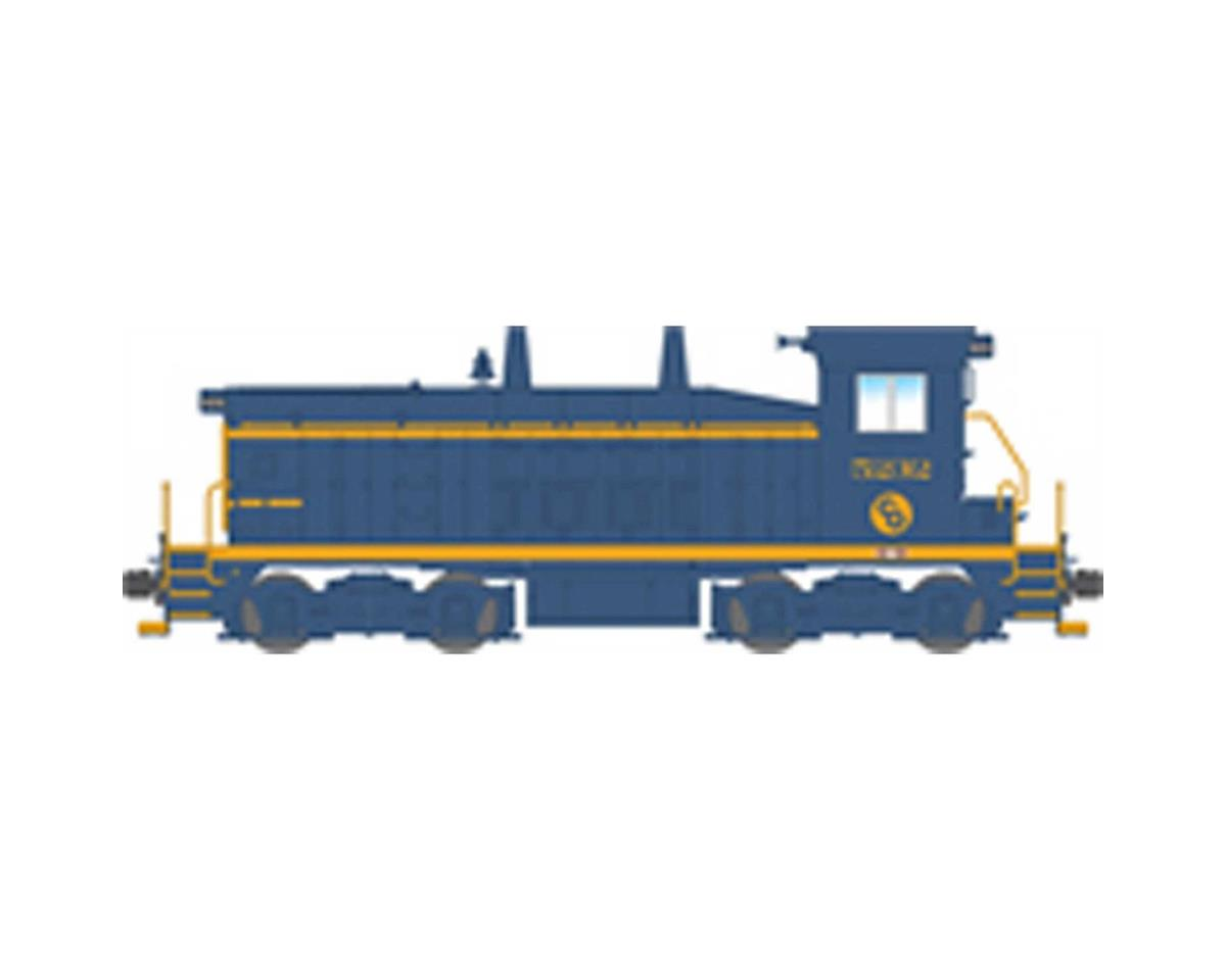 Broadway HO SW7 Switcher w/DCC& Paragon 3, C&O #5231