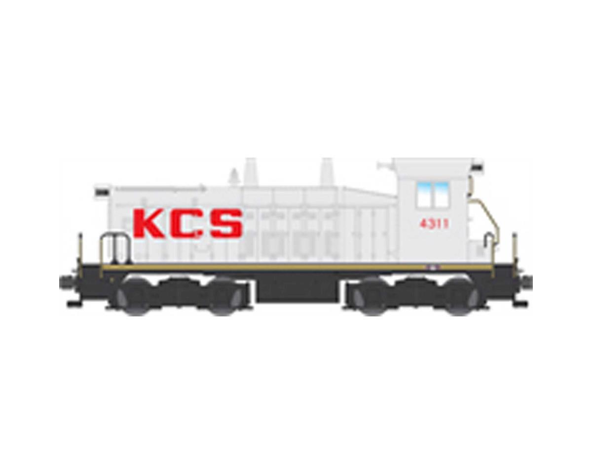 Broadway HO SW7 Switcher w/DCC& Paragon 3, KCS #4310
