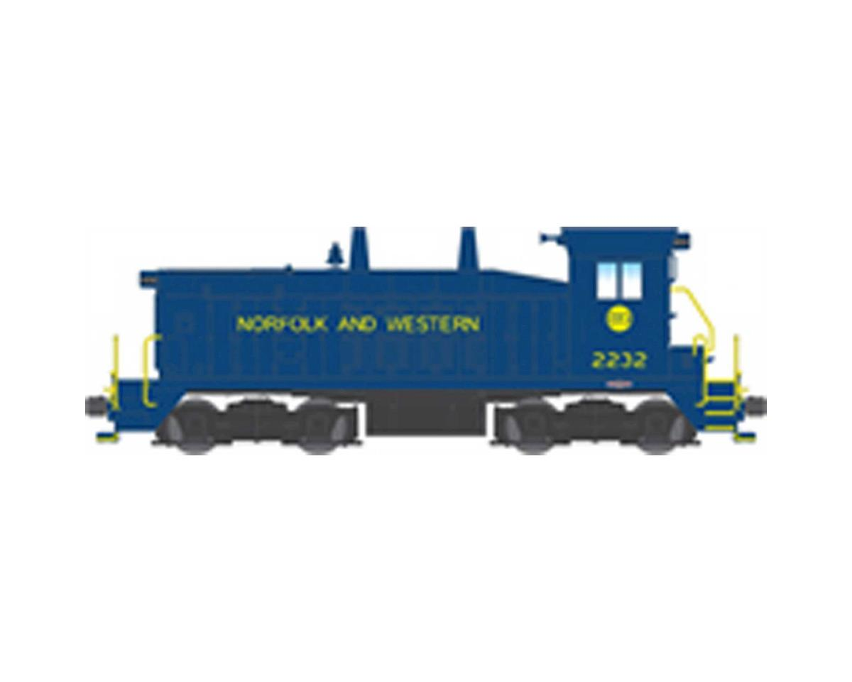 Broadway HO SW7 Switcher w/DCC& Paragon 3, N&W #2232