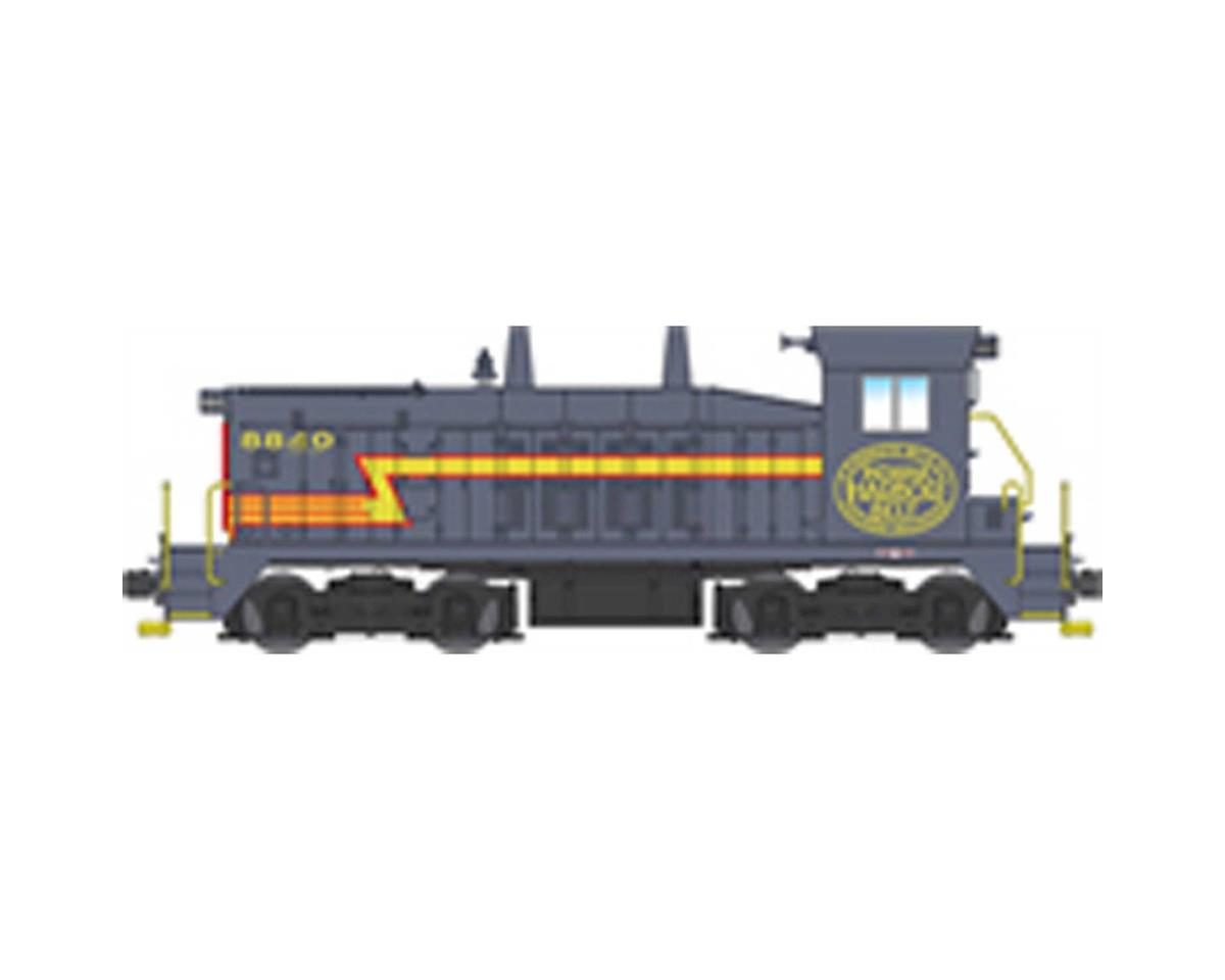 Broadway HO SW7 Switcher w/DCC& Paragon 3, NYC/IHB #8840