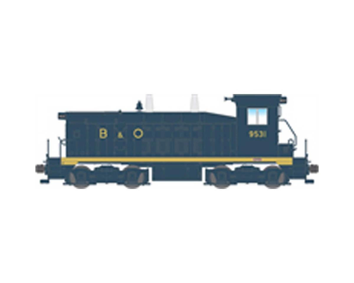 Broadway HO NW2 Switcher w/DCC & Paragon 3, B&O #9536