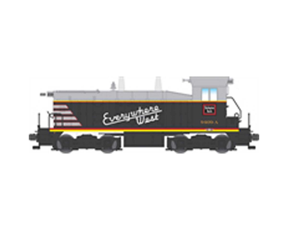 Broadway HO NW2 Switcher w/DCC & Paragon 3, CB&Q #9409-B