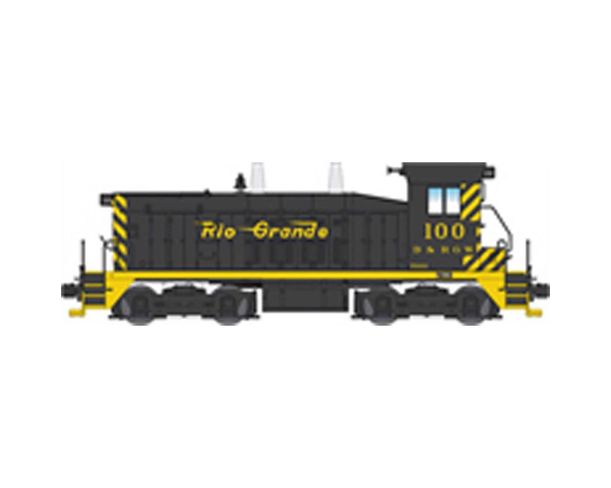 Broadway HO NW2 Switcher w/DCC & Paragon 3, D&RGW #100