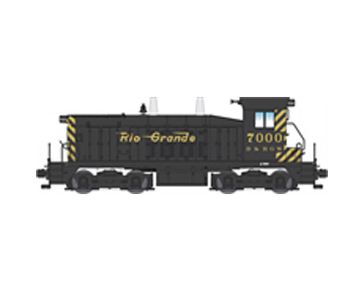 HO NW2 Switcher w/DCC & Paragon 3, D&RGW #7000 by Broadway