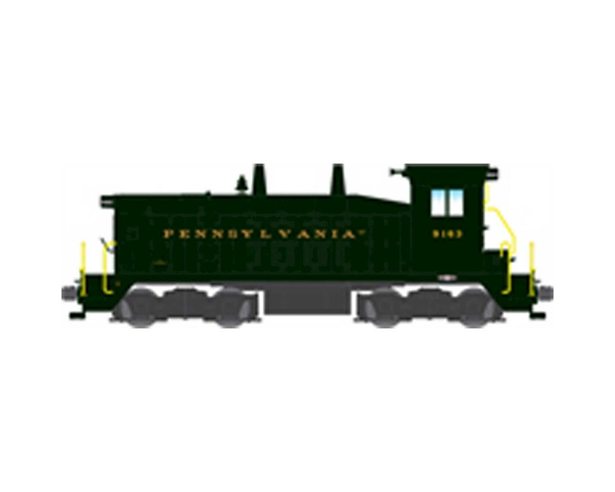 Broadway HO NW2 Switcher w/DCC & Paragon 3, PRR #9163
