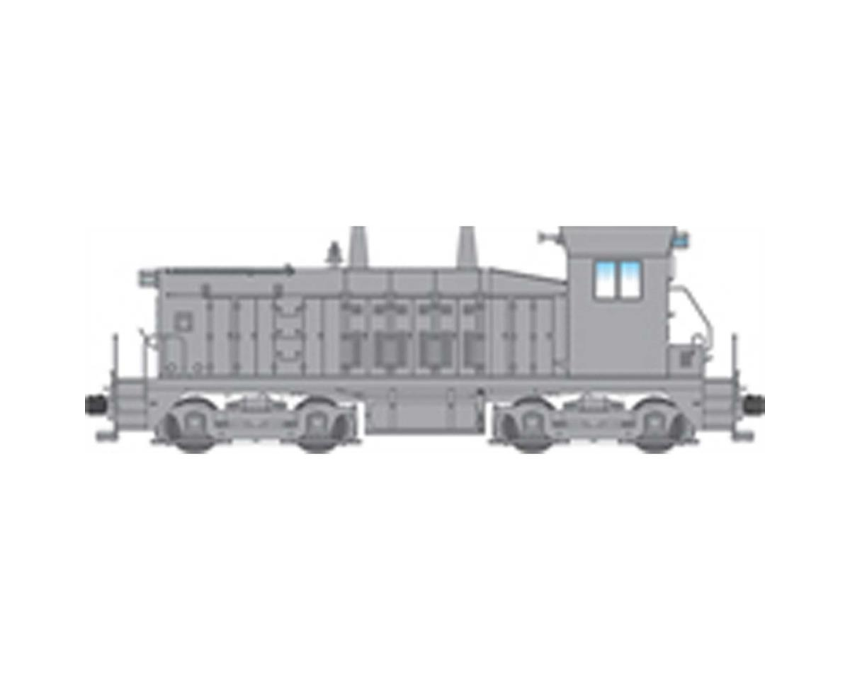 Broadway HO NW2 Switcher w/DCC & Paragon 3, Undecorated