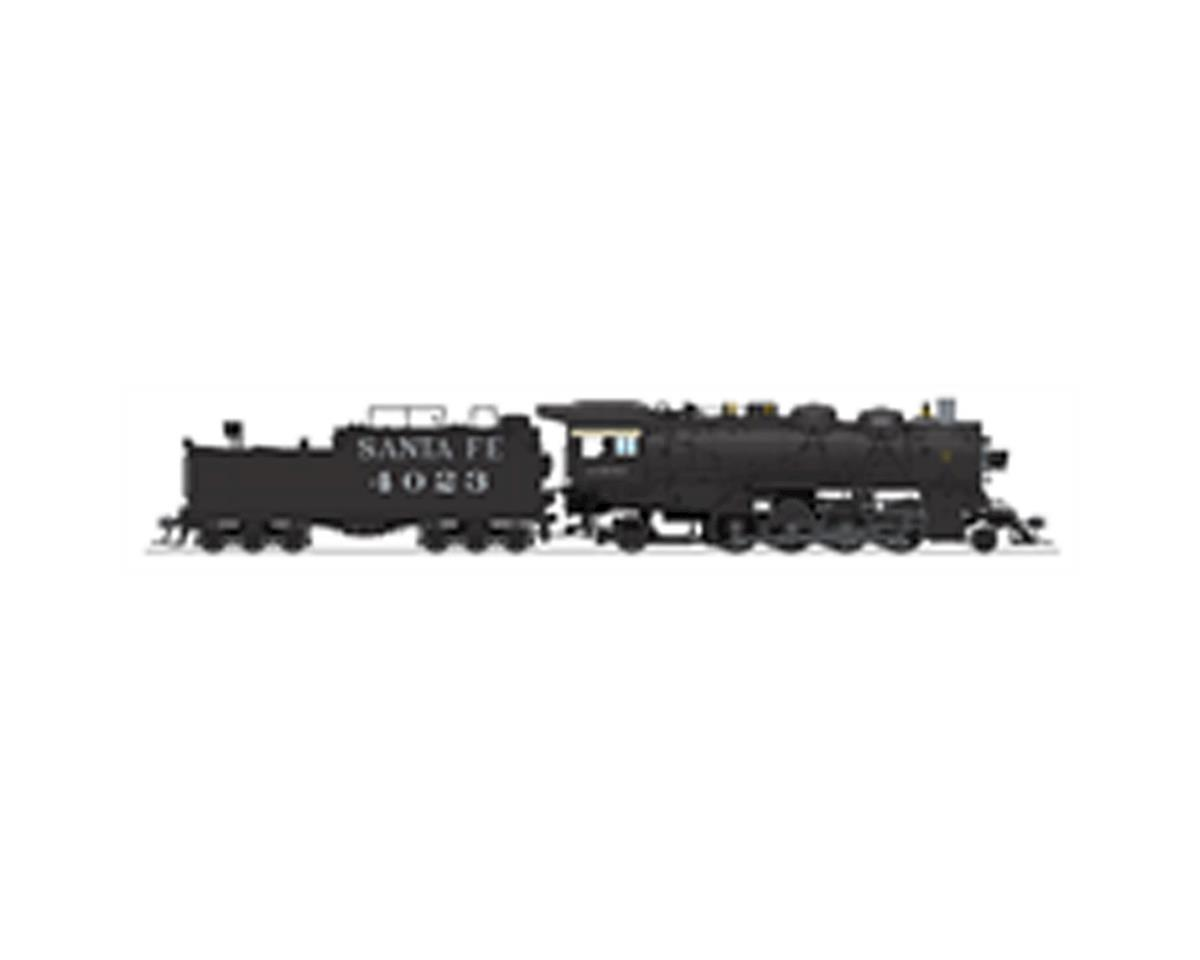 HO 2-8-2 Mikado w/DCC & Paragon 3, SF #4099 by Broadway