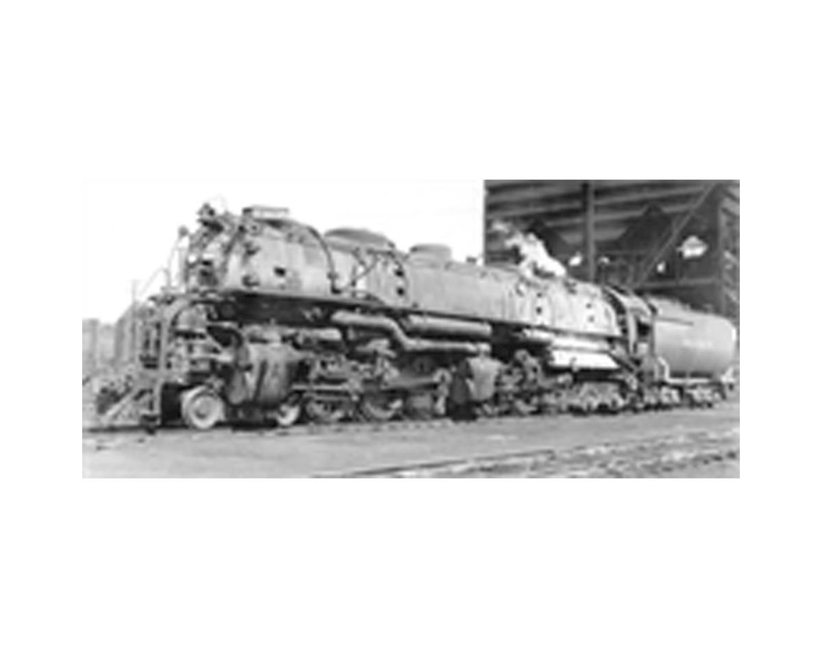 HO 4-6-6-4 w/DCC & Paragon 3, UP CSA-2 Class #3837 by Broadway