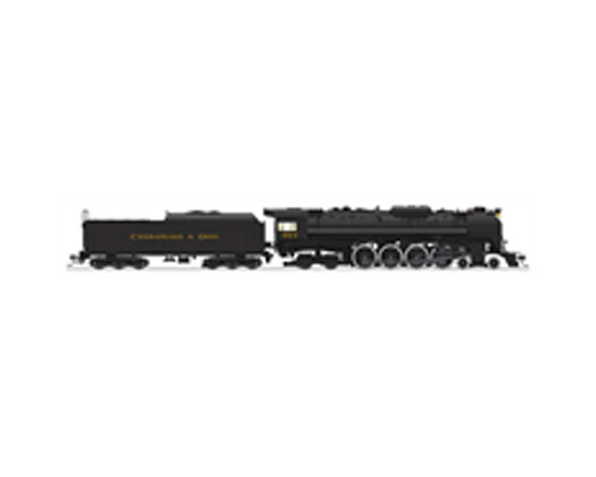 Broadway HO Brass J3a 4-8-4 w/DCC & Paragon 3, C&O #613 B
