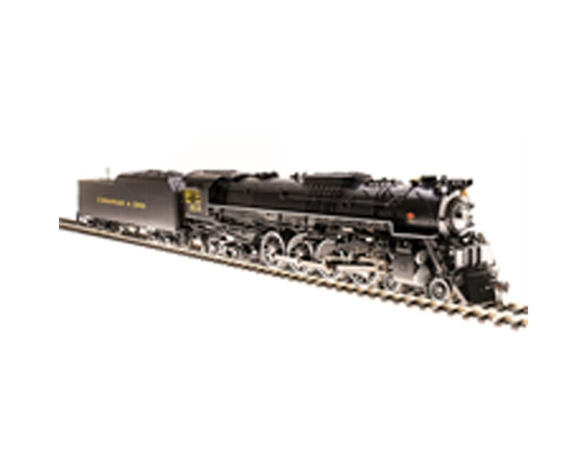 Broadway HO Brass J3a 4-8-4 w/DCC & Paragon 3, C&O #614 A