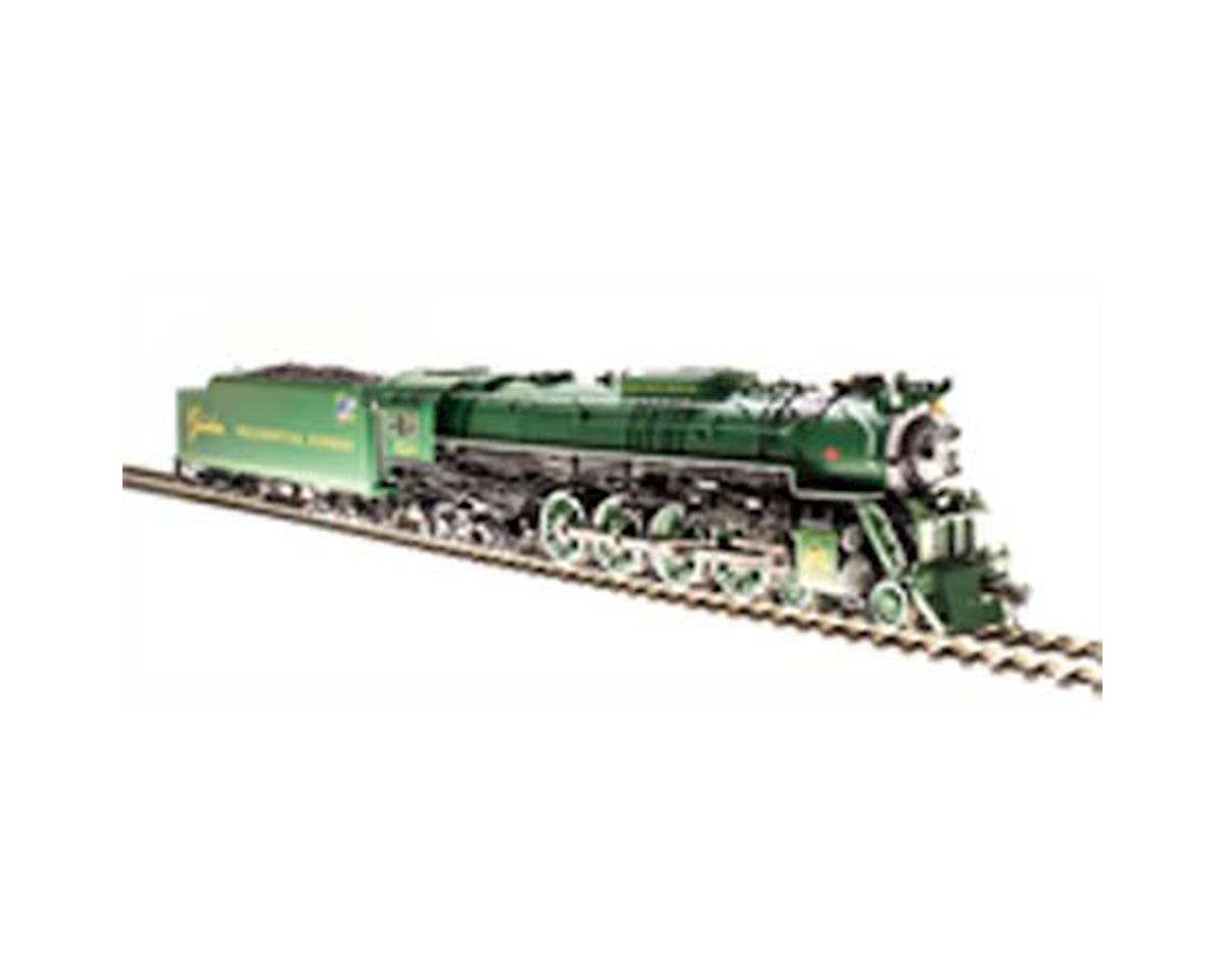 HO Brass J3a 4-8-4 w/DCC & Paragon 3, C&O #614 E by Broadway