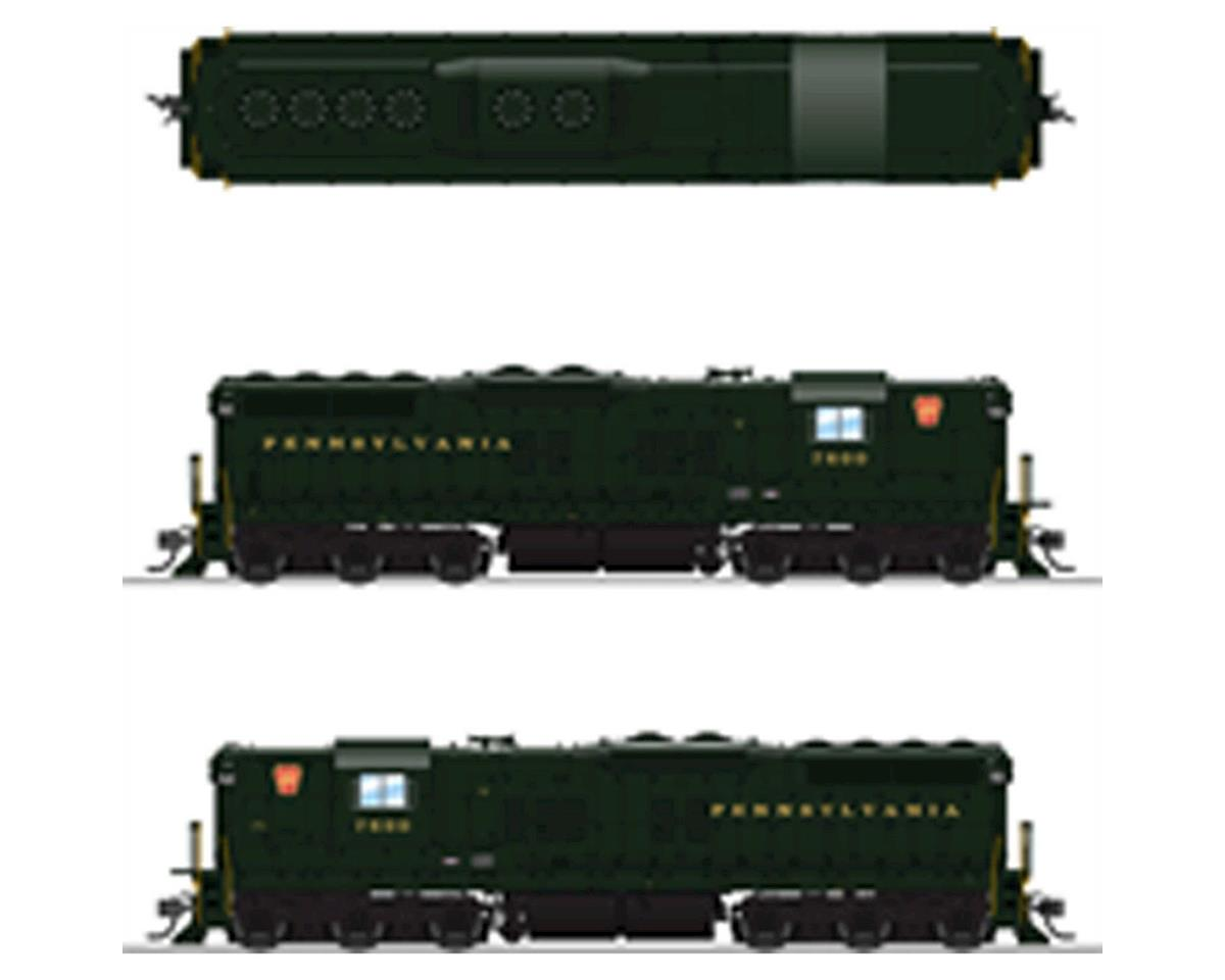 Broadway HO SD9 w/DCC & Paragon 3,PRR/Brunswick Green #7600