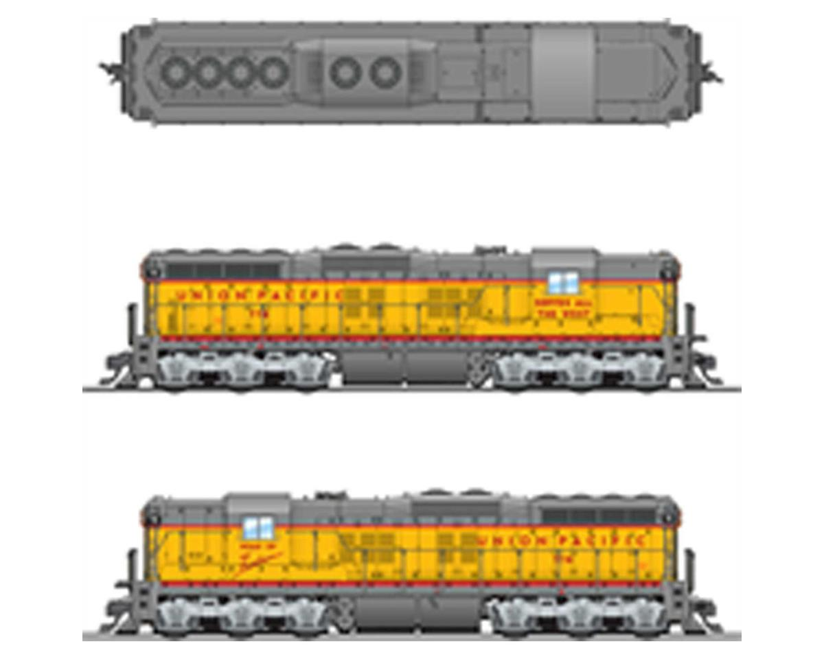 Broadway HO SD7 w/DCC & Paragon 3, UP #778