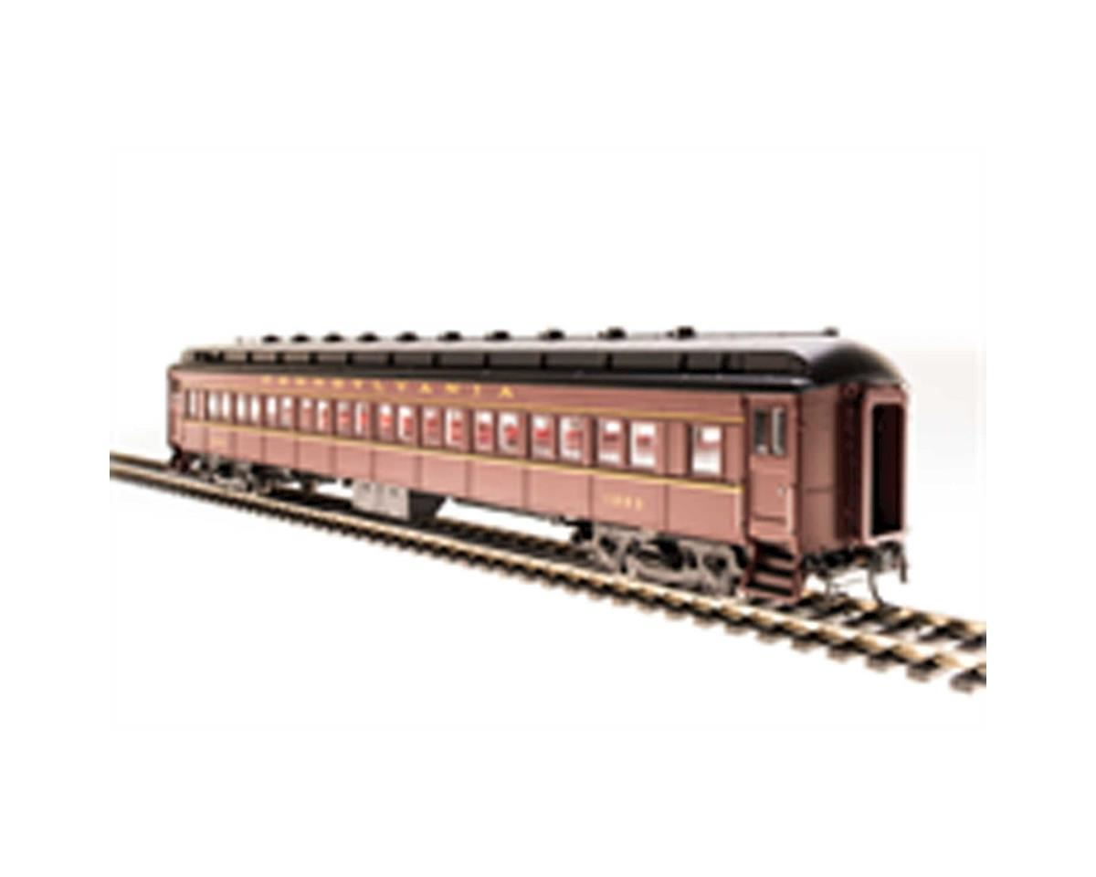 Broadway HO P70R Passenger Car AC, Undecorated/Red