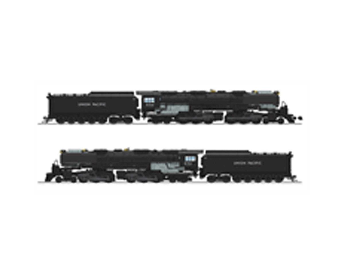 HO 4-6-6-4 w/DCC & Paragon 3/Oil Tender, UP #3711