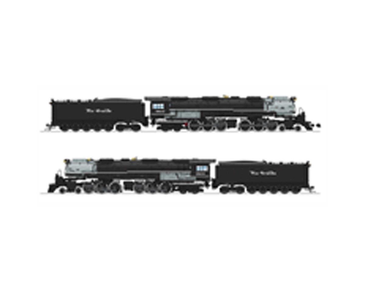 Broadway HO 4-6-6-4 w/DCC & Paragon 3/CoalTender,D&RGW#3803