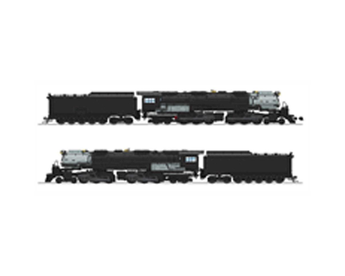 Broadway HO 4-6-6-4 w/DCC & Paragon 3/CoalTendr,Undecorated