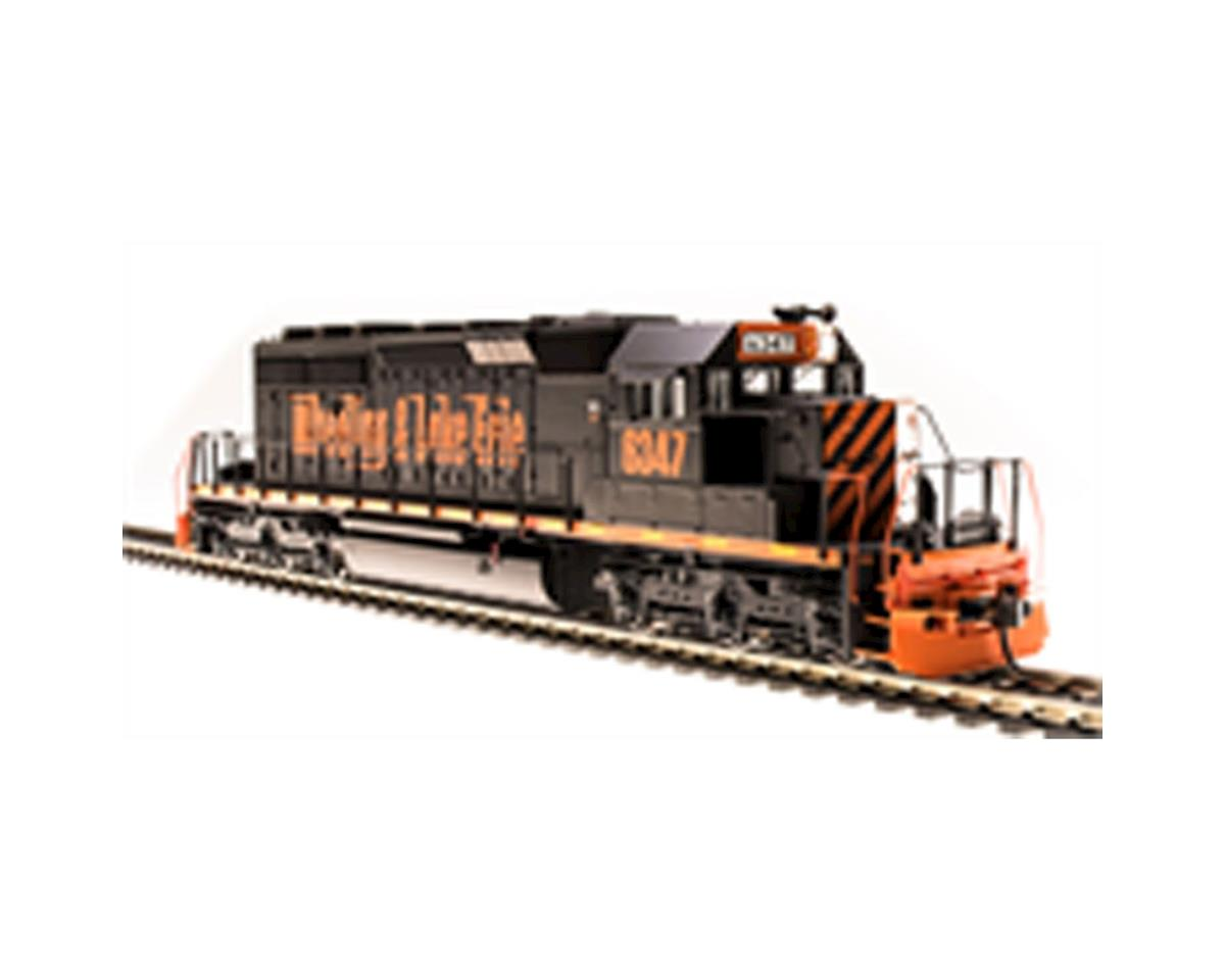 HO SD40-2 w/DCC & Paragon 3, W&LE #6347 by Broadway