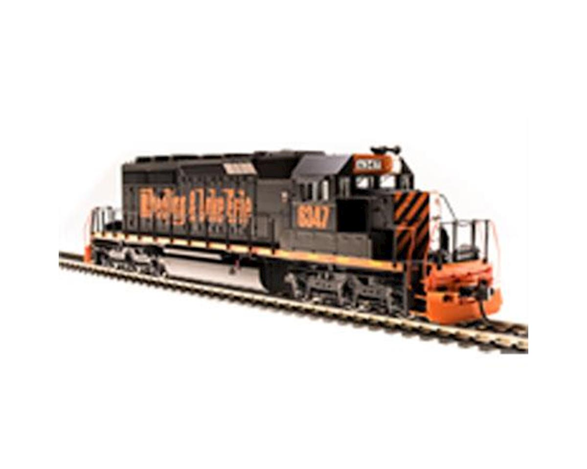 HO SD40-2 w/DCC & Paragon 3, W&LE #6389 by Broadway