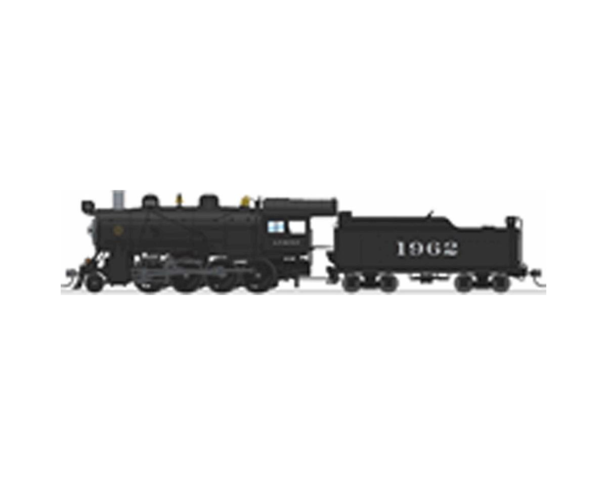 HO 2-8-0 Consolidation w/DCC & Paragon 3, SF #1962