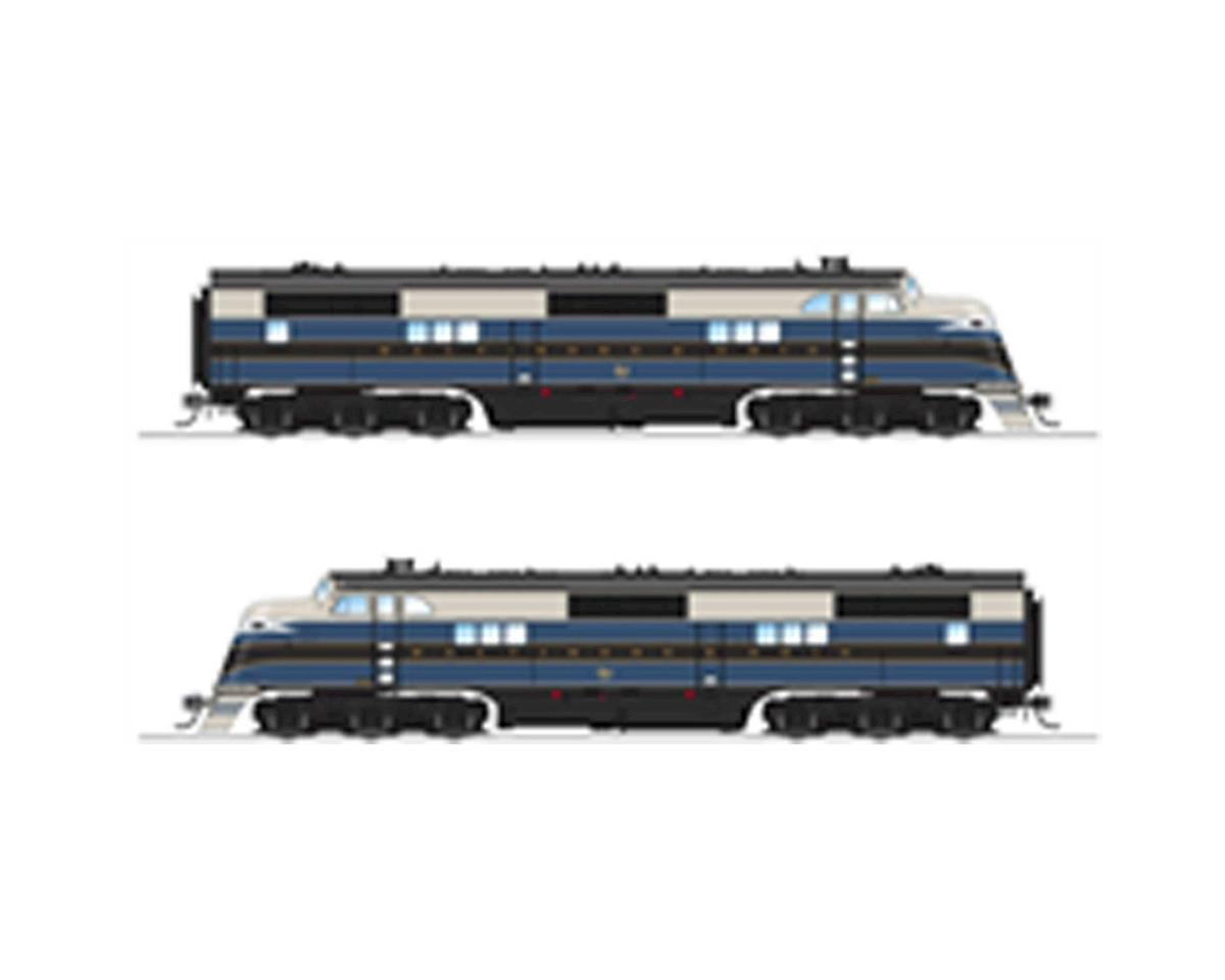HO EA A w/DCC & Paragon 3, B&O/As Delivered #52