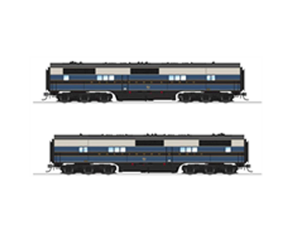Broadway HO EB B w/DCC & Paragon 3, B&O/As Delivered #52