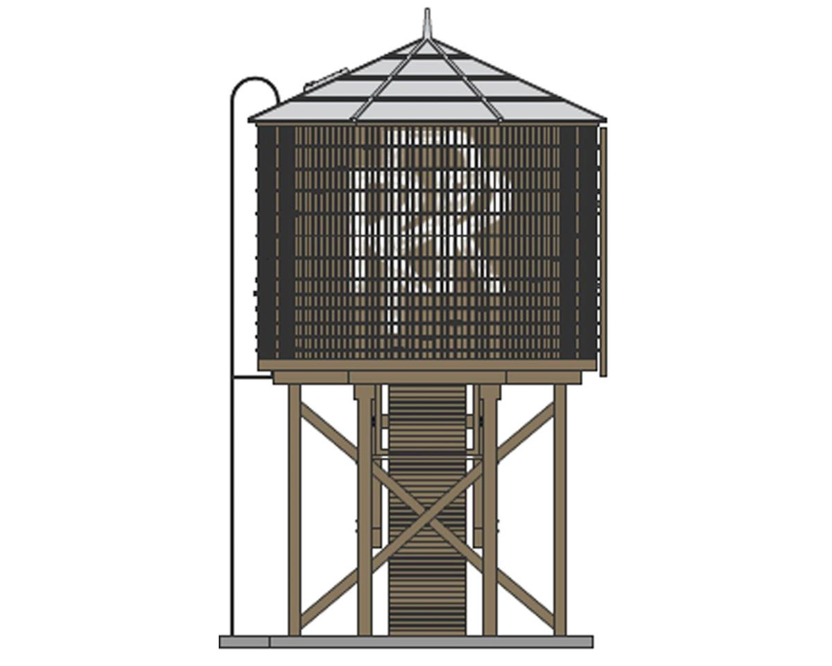 HO Operating Water Tower/Sound,PRR/Weathered Brown