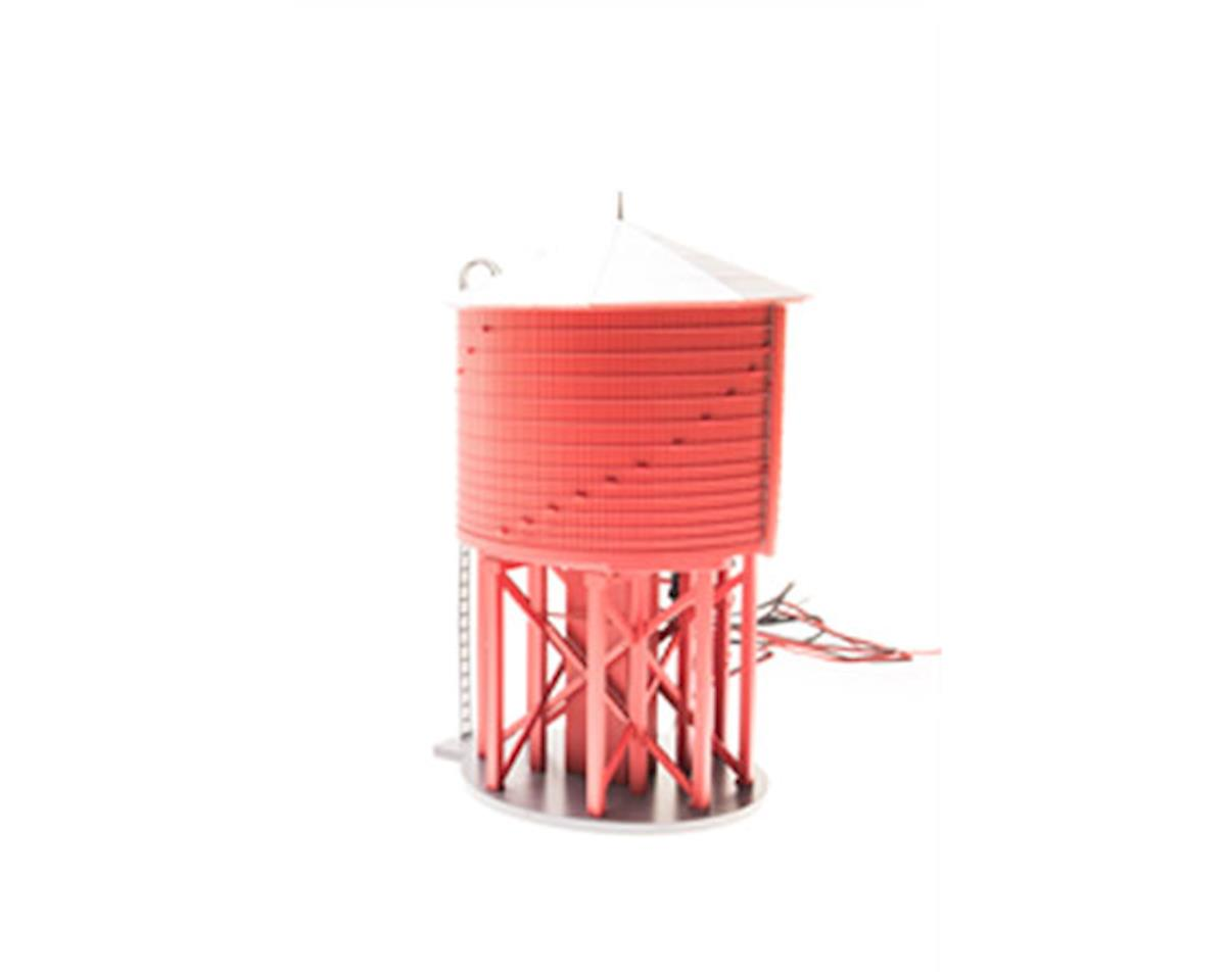 Broadway O Operating Water Tower w/Sound,  Barn Red