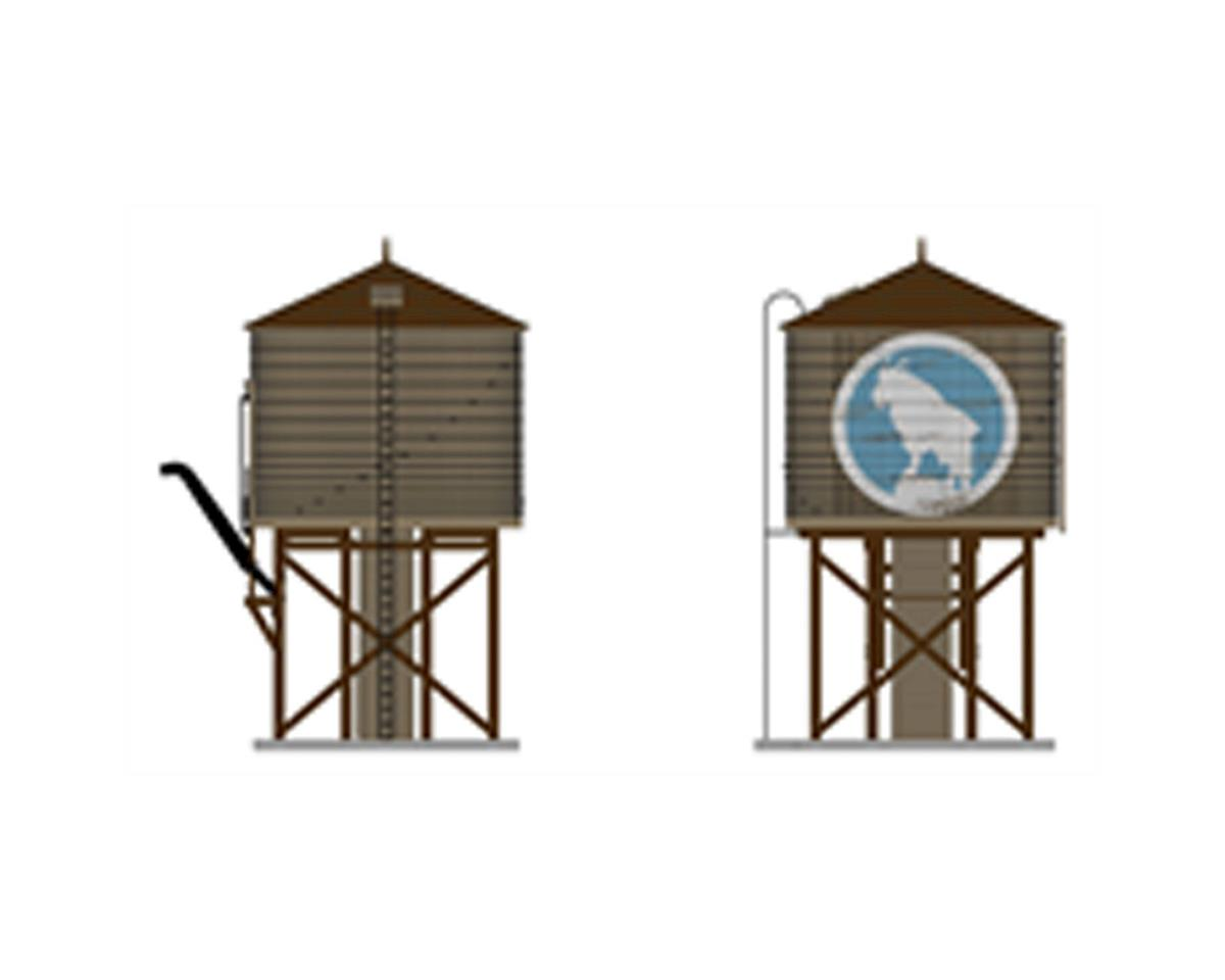 Broadway O Operating Water Tower w/Sound,GN/Weathered Brown