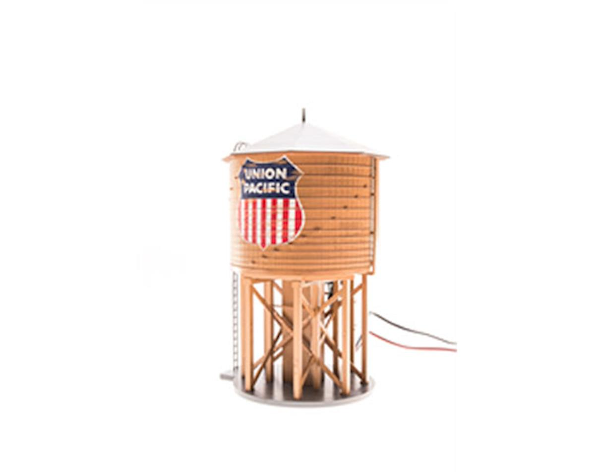 Broadway O Operating Water Tower w/Sound,UP/Weathered Brown