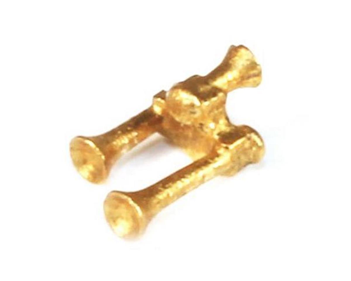 BLMA Models N Brass Air Horn, Leslie S3L-R (2)
