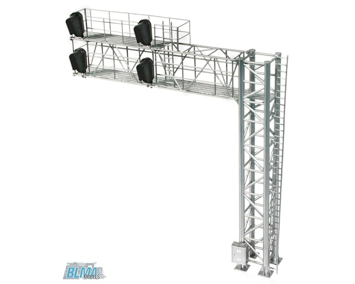 BLMA Models HO B/U Modern Cantilever Signal Bridge, Right Hand
