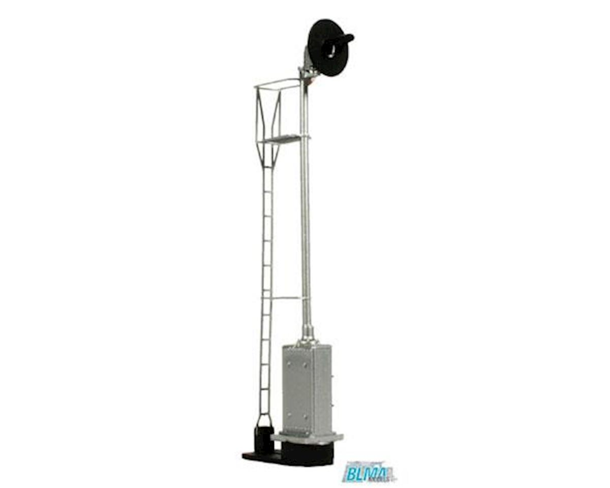 BLMA Models HO Searchlight 1-Head Signal/Ladder/Base, Lighted