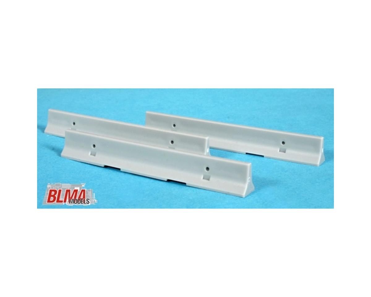 BLMA Models HO Concrete K-Rail Barrier (8)